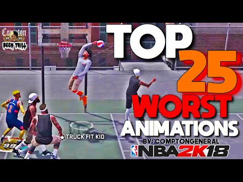 25 MOST ANNOYING ANIMATIONS IN NBA 2K18 🤦🏽♂️ TOP 25 REASONS WHY 2K IS DYING!! 💯