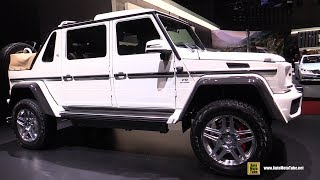2017 Mercedes Maybach G650 Landaulet - Exterior and Interior Walkaround - 2017 Geneva Motor Show