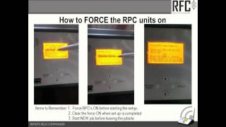 RFC Chapter 6 - How to Force RPC