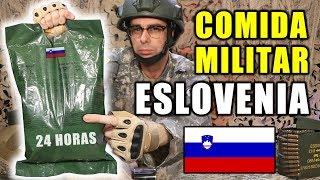 Probando COMIDA MILITAR de ESLOVENIA 24 Horas   MRE Eslovenia Ración Menu C