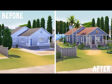 L.A. Home 🌞 \ Renovating EA || The Sims 4 Get Famous: Speed Build