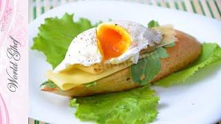 Как приготовить Яйца пашот   Школа кулинарии