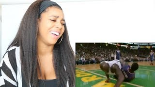 BEST OF SHAQ FALLING DOWN COMPILATION | Reaction