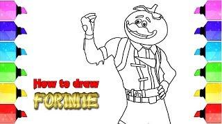 FORTNITE Drawing |  Drawing FORTNITE