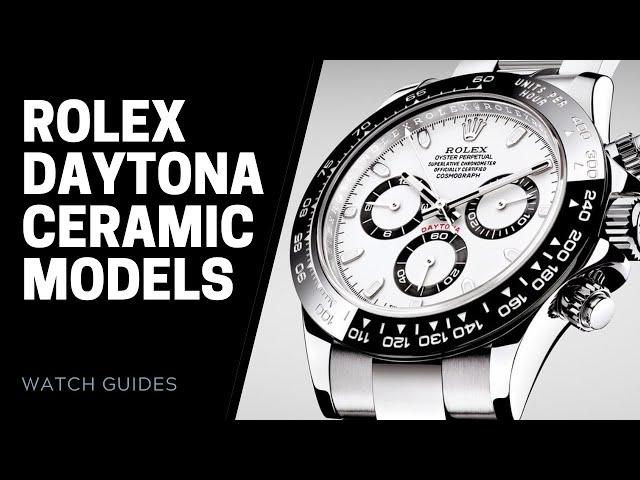 Rolex Daytona Ceramic Bezel Watches Evolution | SwissWatchExpo