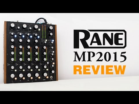 SPANISH: Rane MP2015 Review