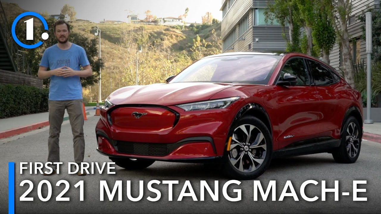 2021 Ford Mustang Mach E First Drive Review Youtube 2021 ford mustang mach e 4x first