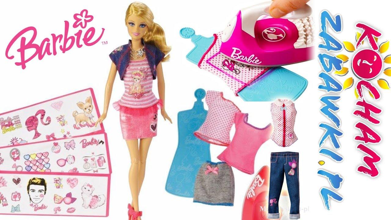 Barbie • Modne naklejki • Zrób to sama • bajki po polsku