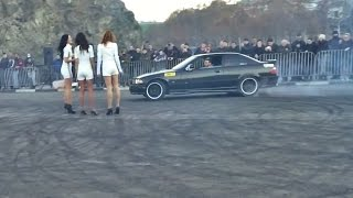 BMW Club Georgia Drift Show 2015 At Metekhi Bridge Tbilisi