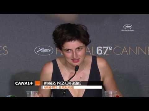 Cannes 2014 - LE MERAVIGLIE : Conférence de presse pour le Grand Prix du Jury