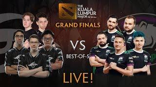 Virtus Pro vs Team Secret Game 5 (BO5) | The Kuala Lumpur Major Grand Finals