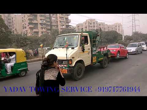 How to Tow Car by TOWING VAN