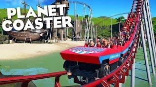Planet Coaster - SIMULADOR DE PARQUE de DIVERSÃO!! (Coaster Simulator)
