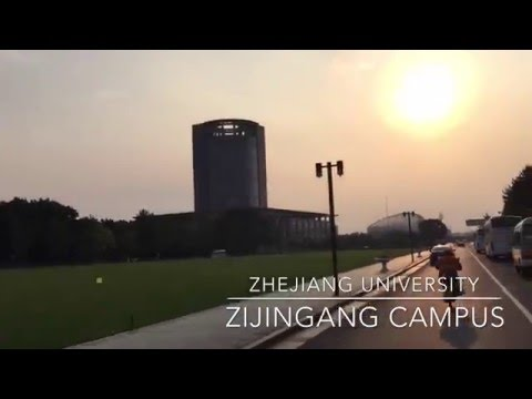 Zhejiang University ZiJinGang Campus fall'15