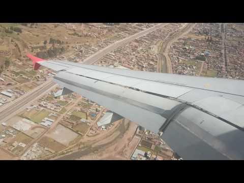 Aterrizaje En Cusco Peru Increible Ubicacion ... Mayo 2016 Airbus 320 Latam