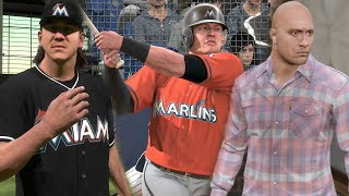 """WWE TAKEOVER"" Miami Marlins Franchise Featuring ""The Rock"" MLB The Show 18 Franchise Mode EP5"