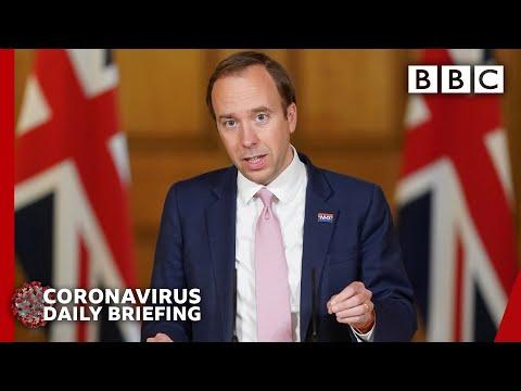 Coronavirus: UK deaths pass 40,000 - Covid-19 Government Briefing 🔴 - BBC