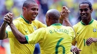 【あの頃のカナリア軍団をもう一度・・・】最強すぎるブラジル代表のスーパープレイ集!2006