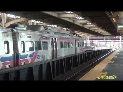Septa local trains @Philadelphia station
