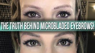 The TRUTH behind MicroBladed Eyebrows!