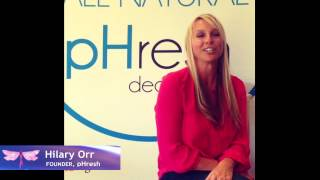 Hilary Orr pHresh Deodorant Founder #BreastCancerAwareness Relay Thumbnail