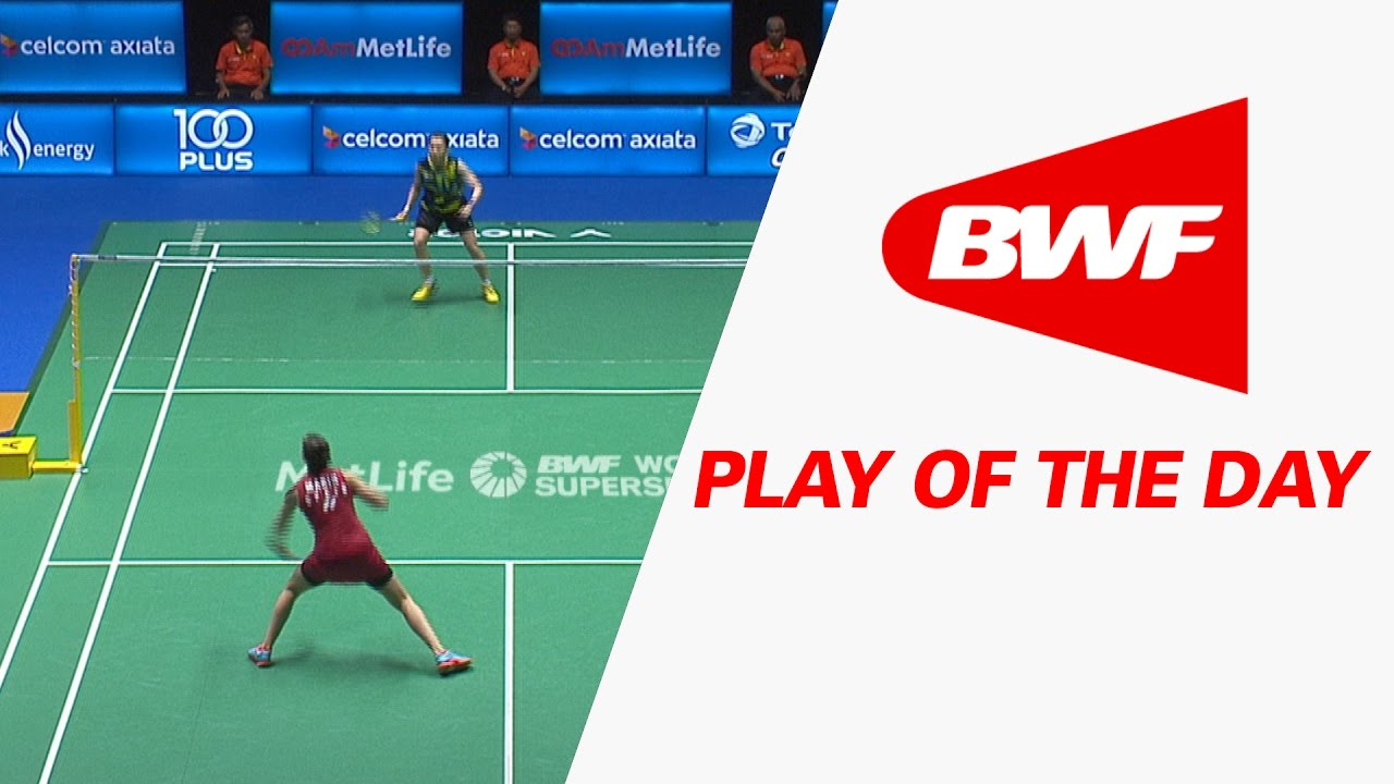 Play Of The Day Badminton F Celcom Axiata Malaysia Open 2017 Youtube
