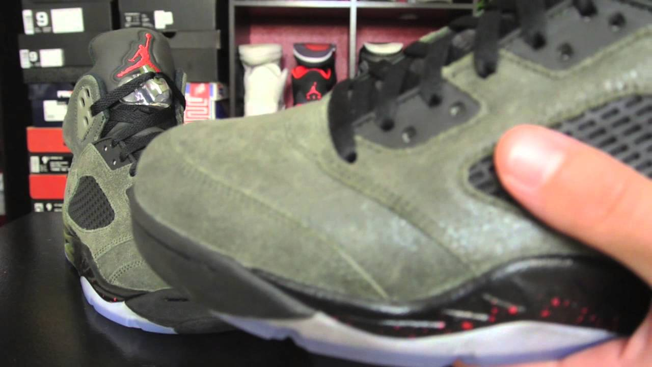 04dce51eebe221 Air Jordan 5 Retro  Fear Pack  - YouTube