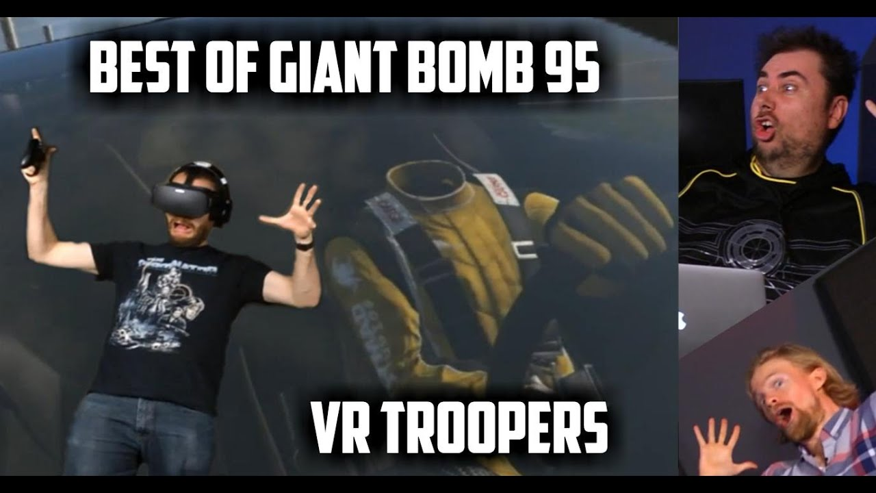Best Of Giant Bomb 95 Vr Troopers Youtube