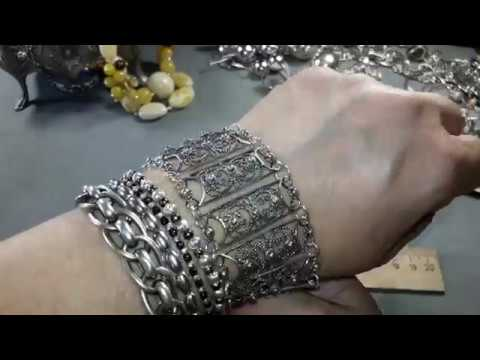 61. Серебряные украшения без камней🤗💖.