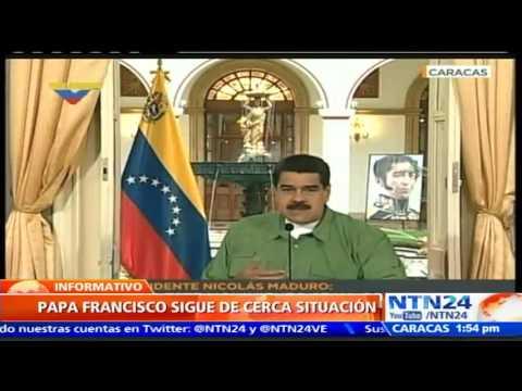 Resultado de imagen de ¡EL PAPA ROMPE EL SILENCIO! Vaticano pide suspender la constituyente en Venezuela