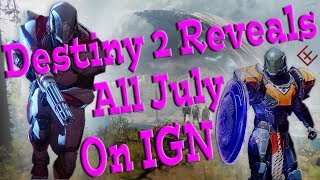 In this Destiny 2 video, we look at all the Reveals and News we wil...