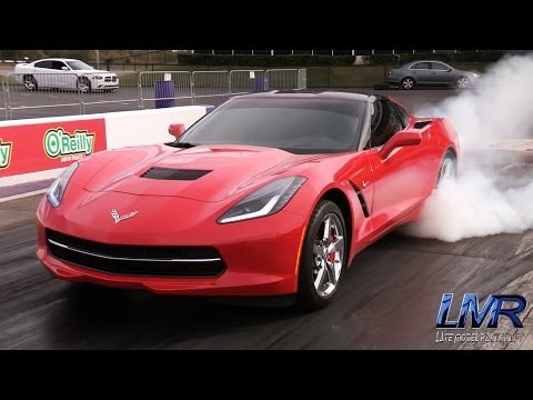 Watch this nitrous-snorting C7 Corvette make a 9-second pass