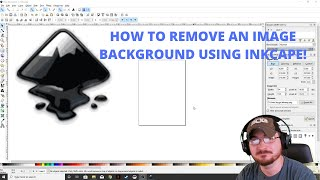 How to remove tнe background from an image using Inkscape