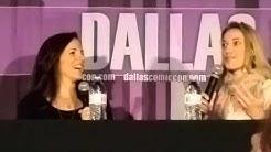 Zoie Palmer + Anna Silk Doccubus Dallas Comic Con video 2 @rubyavela  https://twitter.com/rubyavela