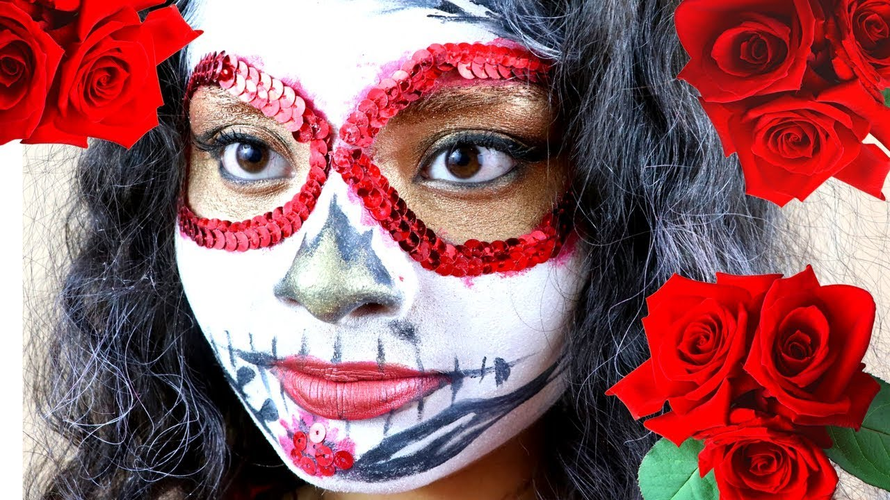 day of the dead makeup l hold me tight or dont fall out boy inspired