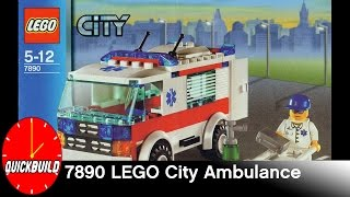 LEGO City 7890 Ambulance - Quick Build and Review