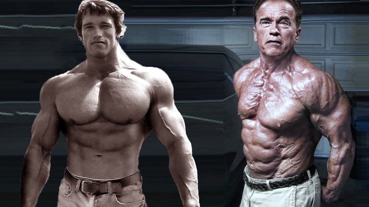 Arnold Schwarzenegger - Then and Now - YouTube