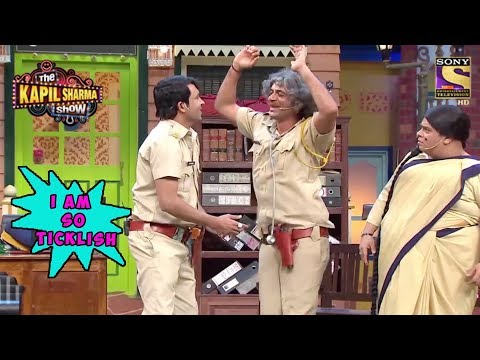 Dr. Mashoor Gulati Feels Ticklish  The Kapil Sharma