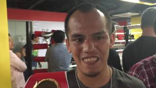 Milan Melindo wants to unify the junior flyweight titles
