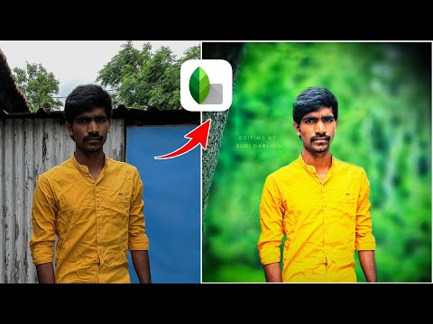 Snapseed photo editing tutorial in telugu thumbnail