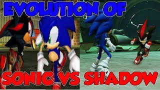 Evolution of Sonic vs. Shadow Battles in Video Games (2001-2014) 1080p60