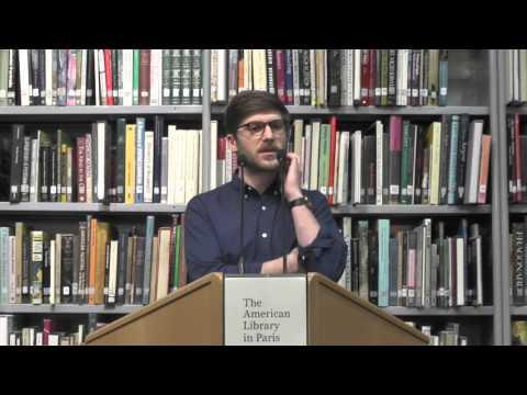 Scott Sayare @ The American Library in Paris | 13 January 2016