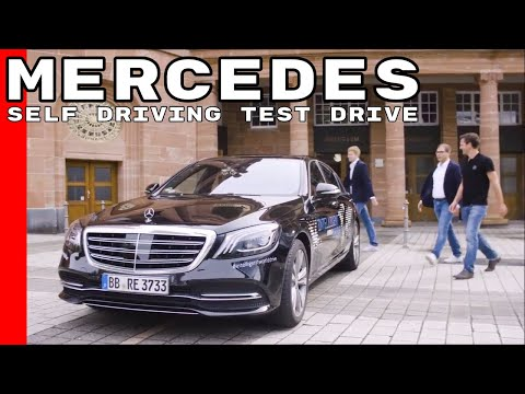 Mercedes Intelligent World Drive - Automated Self Driving Test Drive