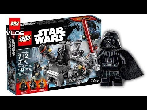 Lego Star Wars Darth Vader Transformation 75183 Speed Build And