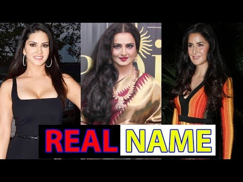 Bollywood Beauties Who Changed Their REAL Names For The Big Screen!