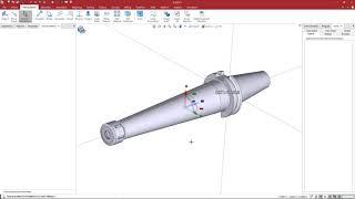 Create a GDML for a Lyndex Nikken Milling Holder in ESPRIT