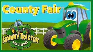 Johnny Tractor and Friends: County Fair -  Interactive Storybook App With Tractors & Farm Animals