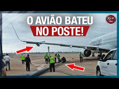 O que o piloto faz PARA NÃO BATER o avião em nada no AEROPORTO?