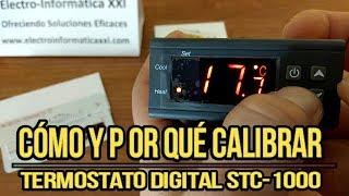 ⏩Cómo y Por qué ✅ CALIBRAR ✅ TERMOSTATO STC1000 Control de Temperatura Incubadoras
