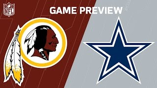 Redskins vs. Cowboys (Week 12 Preview) | Around the NFL Podcast | NFL